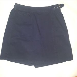 White Stag Skort Skirt Shorts Navy Blue Size 8